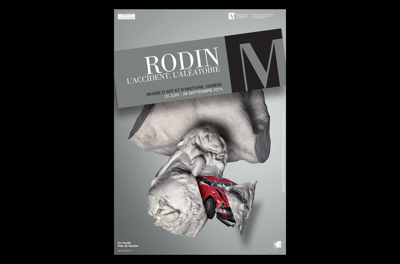 Musee-Art-Histoire-Geneve-Exposition-Rodin-Affiche-Graphiste-Sophie-Jaton
