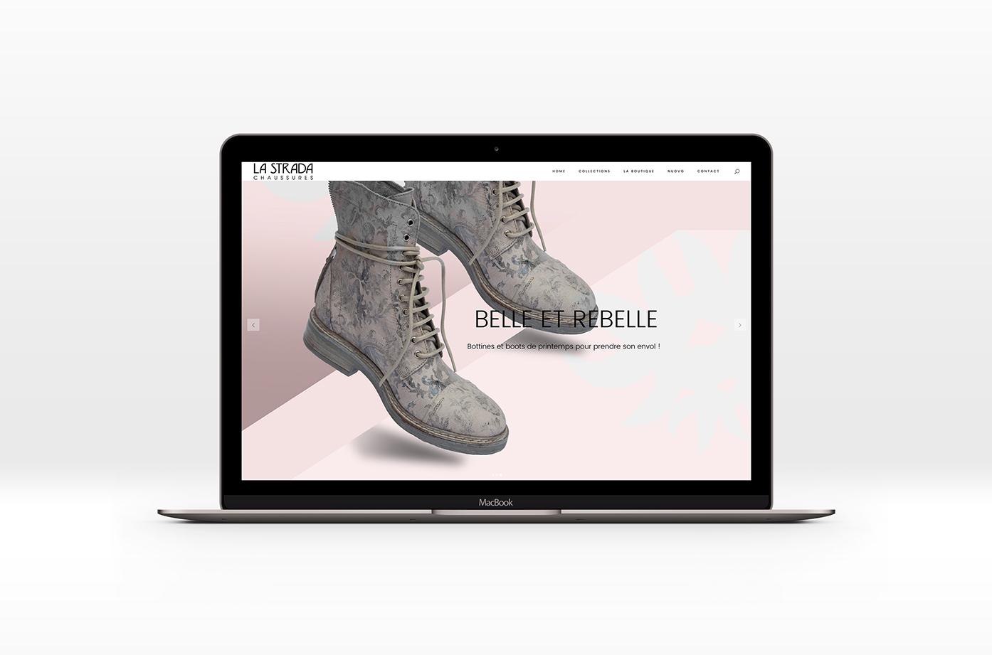 Creation-Identite-Site-Internet-Strada-Chaussures-Sophie-Jaton