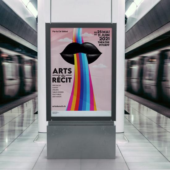 Affiche-Les-Arts-du-Recit-Sophie-Jaton-Graphiste-Geneve